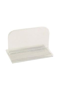 """Tischaufsteller """"T-Ständer"""" aus Acrylglas, 12x7.5cm, 1 Stk."""