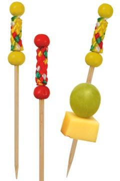 "Fingerfood Spieße ""String"" aus Bambus, 7.5cm, 200 Stk."