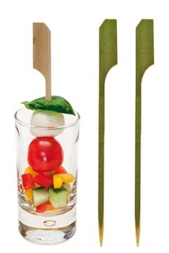 """Fingerfood Spieße """"Golf"""" aus Bambus, 12cm, 250 Stk."""