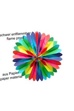 Rosette aus Papier, Ø70cm, 1 Stk.