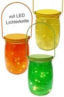 "Deko-Glas mit LED ""summerday"", ca. 16cm, 1 Stk."