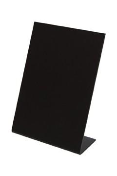 Tisch-Kreidetafeln, PVC, schwarz, ca. 10.5x14.8cm, DIN A6, 3 Stk.