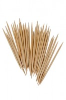 Zahnstocher aus Holz, rund, Ø2mm, 65mm, 10000 Stk.