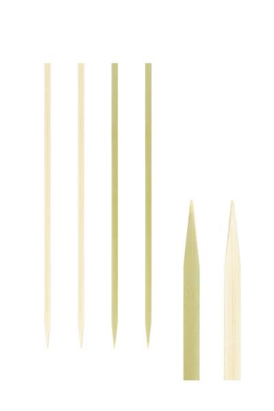 """Fingerfood Spieße """"Natur"""" aus Bambus, 18cm, 100 Stk."""