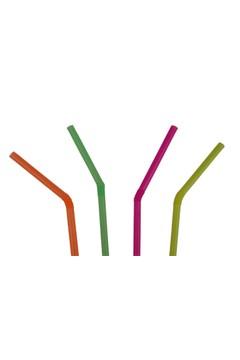 Trinkhalme, flexibel, neon, Ø5mm, 24cm, 250 Stk.