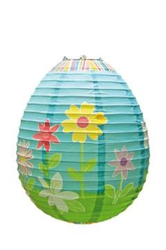 "Lampion ""Springtime"", Ø30cm, H=42cm, schwer entflammbar"
