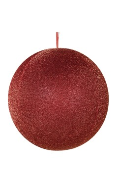 Kugel aus Stoff, rot, aufblasbar, Ø 50 cm, 1 Stk.