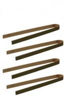 Fingerfood Zange aus Bambus, 16cm, 10 Stk.
