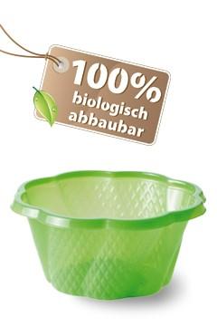 BIO Eisbecher aus PLA, grün, 210ml, 50 Stk.