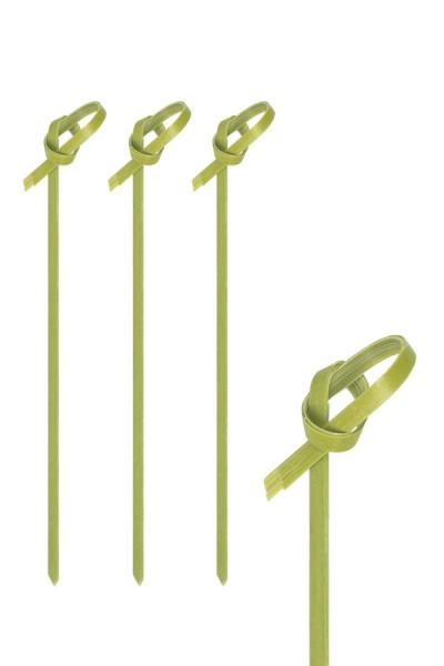 """Fingerfood Spieße """"Knoten"""" aus Bambus, 11cm, 250 Stk."""