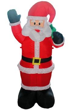 Weihnachtsmann aufblasbar mit LED's, ca. 180cm, 1 Stk.