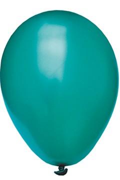 "Luftballons ""Perlmutt"", grün, Ø30cm, 50 Stk."