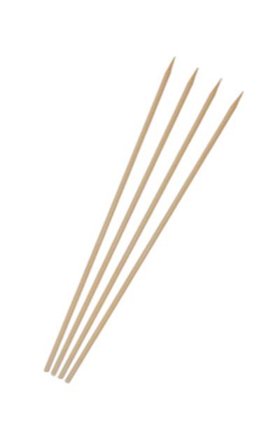 Schaschlikspieße aus Bambus, Ø3mm, 18cm, 50 Stk.