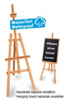 Staffelei natur, wasserfest, 178cm, 1 Stk.