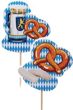 "Deko-Picker ""Oktoberfest"", 10cm, 100 Stk."