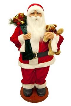 Weihnachtsmann, beweglich mit Sound, ca. 90cm, 1 Stk.
