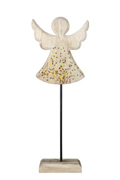 Engel aus Holz 35.5 cm, 1 Stk.