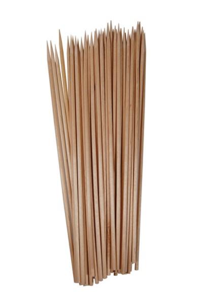 Schaschlikspieße aus Holz, Ø2.2mm, 15cm, 500 Stk.