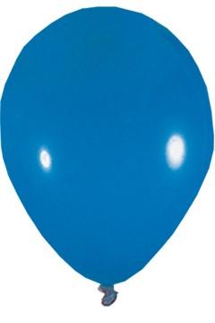 Luftballons, blau, Ø36cm, 50 Stk.