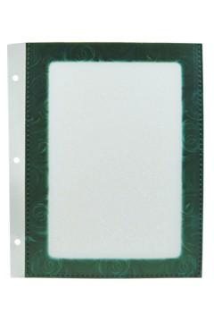 Folienblätter, grün, A5, 10 Stk.