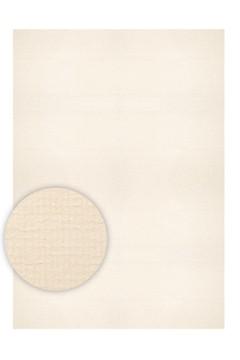 Einlegeblätter A4, elfenbein strukturiert, 100g, 50 Stk.