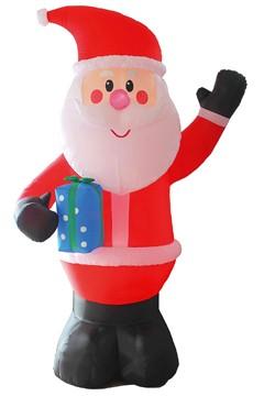 Weihnachtsmann XL aufblasbar mit LED's, ca. 300cm, 1 Stk.