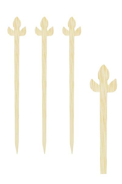 """Picker """"Lilie"""" aus Bambus, 9cm, 200 Stk."""
