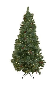 Weihnachtsbaum, mit 300 LEDs und Dekor, ca. 183cm, 1 Stk.