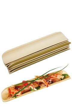 Fingerfood Set aus Bambus, 6-teilig, 1 Set