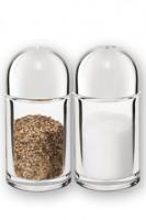 Menagen (Salz, Pfeffer) aus Acrylglas, Ø3.3cm, 7.3cm, 2 Stk.