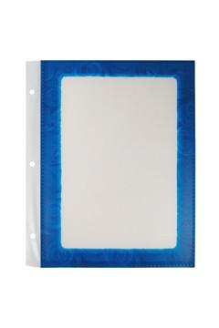 Folienblätter, blau, A4, 10 Stk.