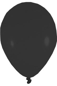 Luftballons, schwarz, Ø36cm, 50 Stk.