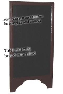 Gehweg-Kreidetafel, 1-seitig, 60x120cm, 1 Stk.