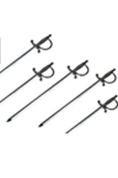 "Picker ""Schwert"" silber, 11.5cm, 100 Stk."