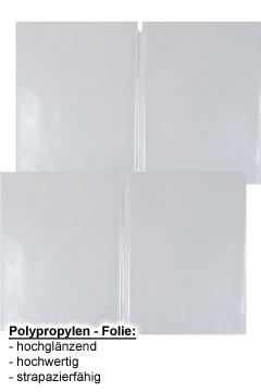 Ersatzfolien (PP) transparent, doppelseitig, A5, 10 Stk.