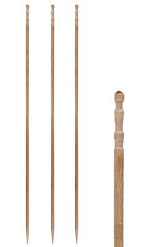 "Fingerfood Spieße ""gedrechselt"" aus Holz, Ø2.2mm, 15cm, 500 Stk."