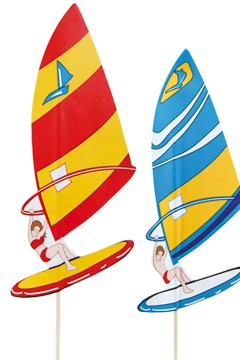 "Deko-Picker ""Windsurfer"", 21cm, 100 Stk."