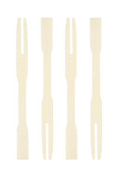 "Fingerfood Gabeln ""Cocktail"" aus Bambus, 9cm, 250 Stk."