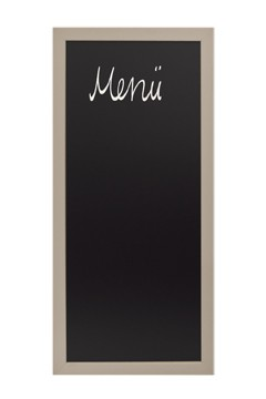 Wand-Kreidetafel, grau, 56x120cm, 1 Stk.