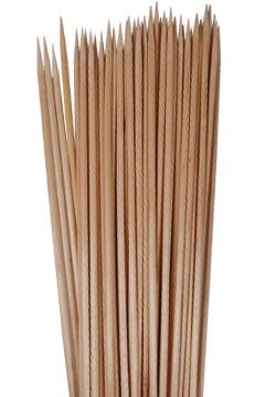 Schaschlikspieße aus Holz, Ø3mm, 20cm, 50 Stk.
