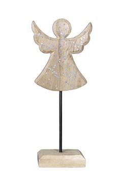 Engel aus Holz 25 cm, 1 Stk.