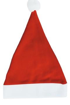 Weihnachtsmütze rot, 43cm 1 Stk.