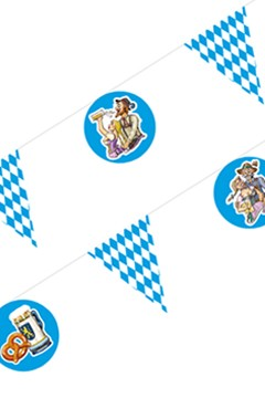 "Wimpelkette ""Oktoberfest Motive"", 4m, 1 Stk."