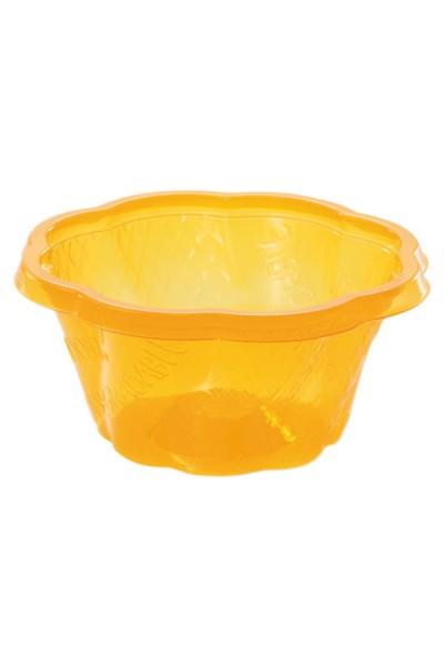 BIO Eisbecher aus PLA, orange, 130ml, 50 Stk.