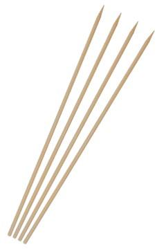 Schaschlikspieße aus Bambus, Ø3.5mm, 24cm, 500 Stk.