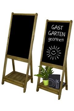 "Gehweg-Kreidetafel ""Vintage"", 62x165cm, 1 Stk."