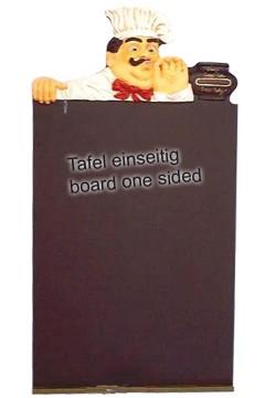 Gehweg-Kreidetafel ''Koch'', 50x120cm, 1 Stk.
