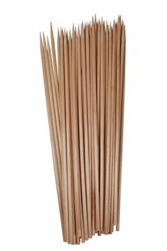 Schaschlikspieße aus Holz, Ø3mm, 30cm, 500 Stk.