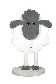 Schaf aus Holz, 31cm, 1 Stk.