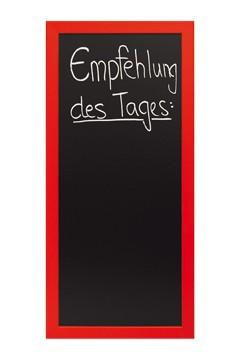Wand-Kreidetafel, rot, 56x120cm, 1 Stk.